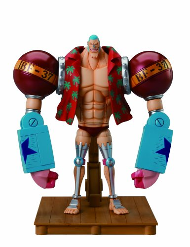 One Piece Chogokin Franky BF-37 Die-Cast Action Figure