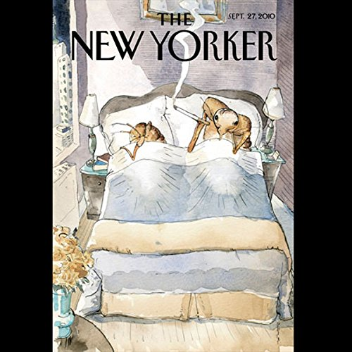 The New Yorker, September 27th 2010 (Jeffrey Toobin, Julia Ioffe, Rebecca Mead) audiobook cover art