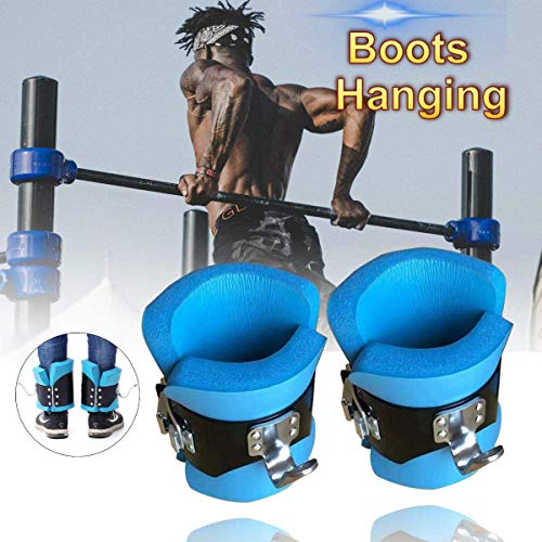 Fantastic Deal! Inversion Gravity Boots, Inversion Solid Steel Ankle Gravity Boots Therapy Gym Fitne...