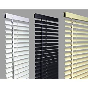 """New 60cm WHITE Pvc Venetian Blinds, AVAILABLE IN 10 SIZES AND 3 COLOURS .Buy As Many As Like For A Max Of £4.99 Shipping. Original """"umlout ©"""" branded:Hitspoker"""