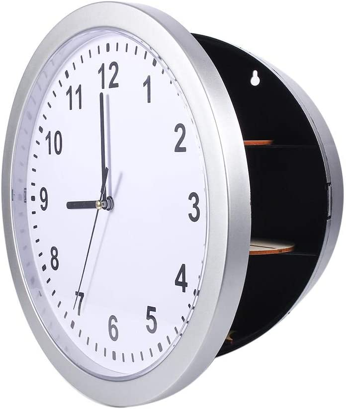 Clock Safe - Akozon Free shipping anywhere in the nation shopping Hidden Secret Wall Box Container