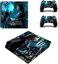 AMALA NAIDU PS4 Slim Skin and DualShock 4 Skin - Adventure game - PlayStation 4 Slim Vinyl Sticker for Console and Controller Skin