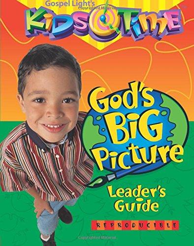 God's Big Picture Leader's Guide (KidsTime)