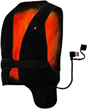 HotVest Electric Heated Power Vest - Universal Adjustable Size for Men or Women, Instant Warmth Under Any Jacket, Battery Pack Power Bank Sold Separate