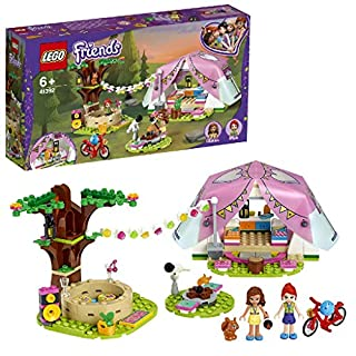 LEGO 41392 Friends Nature Glamping Outdoor Adventure Playset with Tent and Olivia and Mia Mini Dolls (B07WC14JJ6) | Amazon price tracker / tracking, Amazon price history charts, Amazon price watches, Amazon price drop alerts