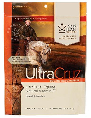 UltraCruz Equine Pure Natural Vitamin E for Horses, 0.75 pounds