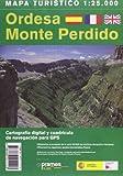 ORDESA MONTE PERDIDO (MAPA TURISTICO)