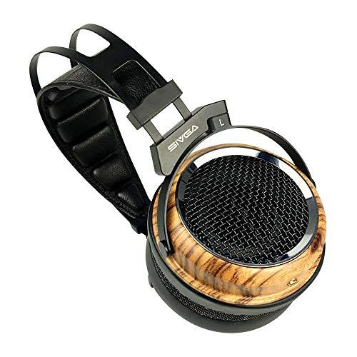 SIVGA Phoenix 50MM Polycarbonate Film Zebrano Headphone