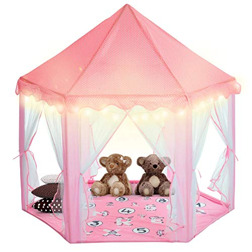 Princess Castle Tent for Girls by Tevelo