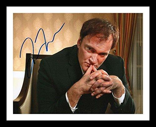 Quentin Tarantino Autogramme Signiert Und Gerahmt Foto