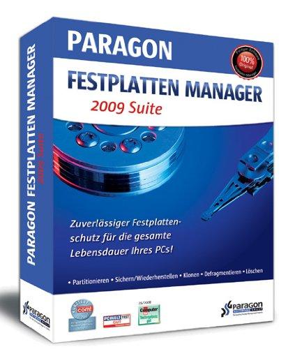 Preisvergleich Produktbild Paragon Festplatten Manager 2009 Suite