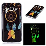 Qiaogle Teléfono Caso - Funda de TPU Silicona Carcasa Case Cover para Samsung Galaxy J5 (2015) (5.0 Pulgadas) - XS32 / Dream Catcher