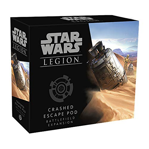 Fantasy Flight Games FFGSWL43 Star Wars: Legion-Crashed Escape Pod Battlefield Expansión