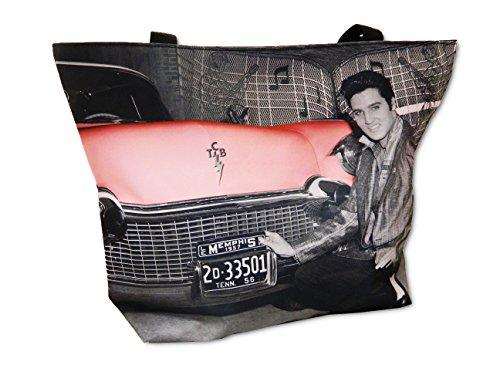 Elvis Presley Tragetasche mit rosa Cadillac