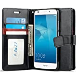 J&D Coque Huawei Honor 5C, [Stand de Portefeuille] Etui Portefeuille de Protection...
