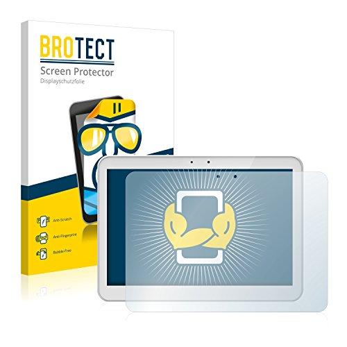 BROTECT Schutzfolie kompatibel mit Archos 101 Helium (2 Stück) klare Bildschirmschutz-Folie