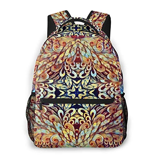 Multifunctional Casual Bapa,Fashion Trend Knapsa,Cute Bapa11.5' X 16' X 8'-Artistic Personality Eternal (7)-1