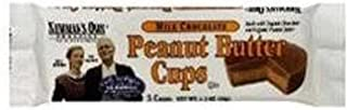 Newmans Own Organics Milk Chocolate Peanut Butter Cup, 1.2 Ounce -- 16 per case.