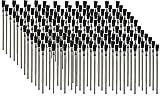 Pro Grade - Acid Brushes - 144 Count 3/8' Boar Hair Acid Flux Brushes