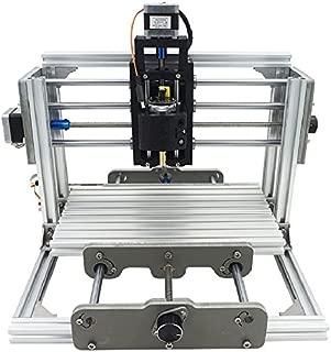 DiY CNC DIY 2イン1 CNCルータキット+ 2500mWレーザー彫刻機 CNC2417 ミニフライス盤 USBデスクトップ木彫り彫刻機 ウッドメタル用 木工 金属加工