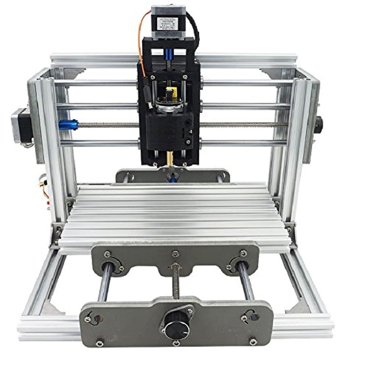 能力知っているに立ち寄る南極DIY CNCルータキット、CNC2417、ミニフライス盤、USBデスクトップ彫刻機、ウッドメタル用、木工用、金属加工用 - DIY CNC Router Kit, CNC2417, Mini Milling Machine, USB Desktop Engraving Machine, For Wood Metal, Woodworking, Metalworking