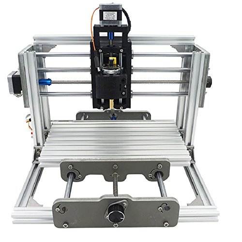 DIY CNC Router Kit, 24x17cm, Mini Milling Machine, USB Desktop Engraving Carving Machine, For Wood and Metal