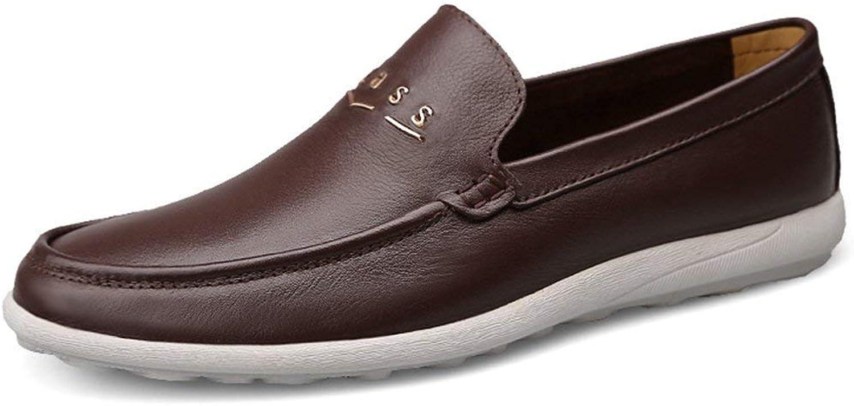 Herren Gummisohle Slip-on Dunkelbraun Synthetische Penny Loafers UK 8.5 (Farbe   -, Größe   -)  | eine große Vielfalt