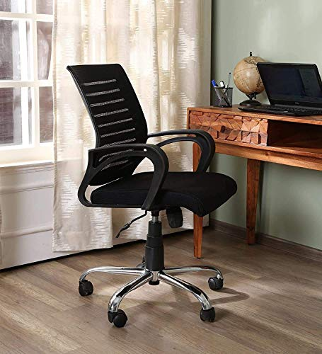 Savya home® by Apex Chair Zoom Home Office Revolving Chair Variation (Infinity)