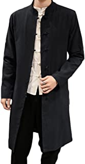 Men Plus Size Autumn Chinese Style Coat Jacket Tang Suit