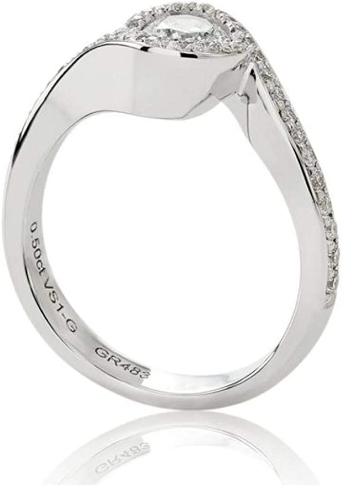Chimento,anello solitario per donna in oro bianco 18k(4,5 gr),con diamanti 0,54 ct 1AER0304G5140_0