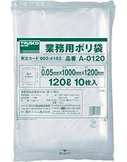 TRUSCO 業務用ポリ袋 厚み0.05