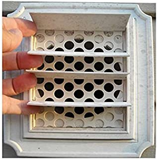 birds building nest in dryer vent