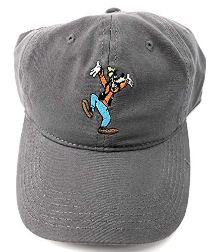 Monogram Disney Adult Goofy Character Grey Baseball Cap Hat Small