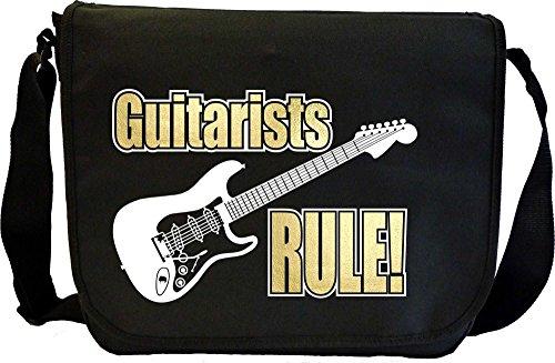 Electric Guitar Rule - Sheet Music Document Bag Musik Notentasche MusicaliTee