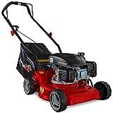 Cortacesped manual GartenXL 16LP-123-S | Cortacesped Gasolina con motor 123 cm|...