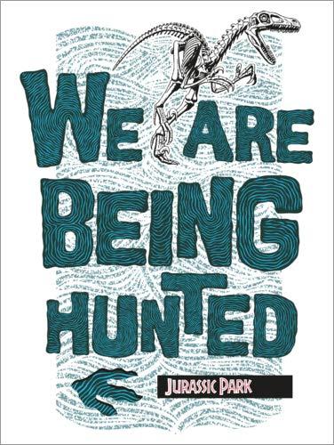 Posterlounge Stampa su Alluminio 70 x 90 cm: We Are Being Hunted di Universal Studios Limited