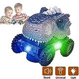 Niskite Dinosaur Toys for Boys Age 3 4 5,Animal Dinos Cars Best Xmas Gifts for 2-8 Age Kids, 3 4...