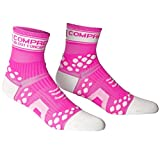 COMPRESSPORT Pro Racing V2 Chaussettes Mixte, Rose Fluo, FR : L (Taille Fabricant : T3)