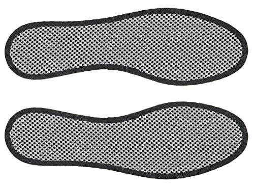 3 Paar Bergal Aktivkohle Einlegesohle Gr. 36-48 Gr. 43