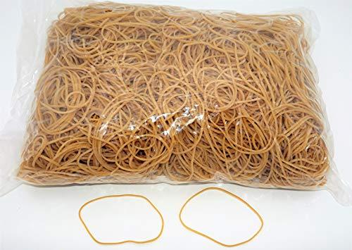 Progom - Gomas Elasticas - 100(ø64)mm x 1.7mm - Natural - bolsa de 1kg