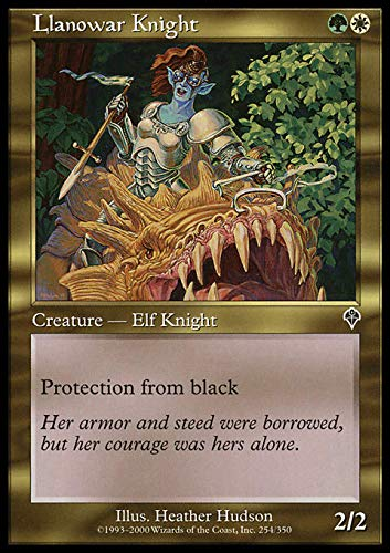 Magic: the Gathering - Llanowar Knight - Invasion by Magic: the Gathering