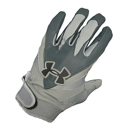 Under Armour HeatGear Enzo Receiver & Running Back Football Gloves (Large)