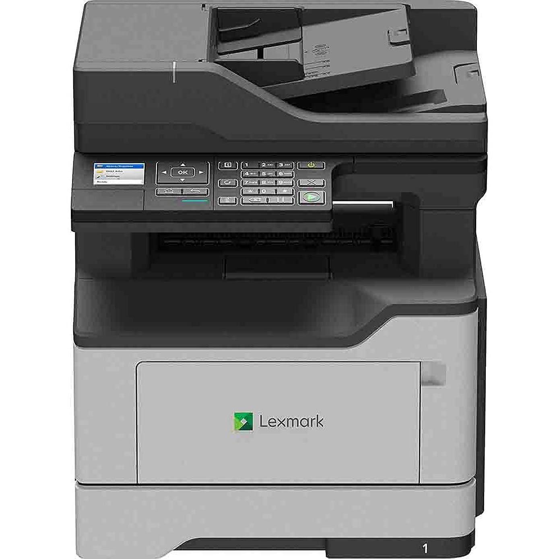 Lexmark MX320 MX321adn Laser Multifunction Printer - Monochrome - Plain Paper Print - Desktop - Copier/Fax/Printer/Scanner - 38