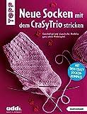 Neue Socken mit dem CraSyTrio stricken: Kuschelige und klassische Modelle ganz ohne Nadelspiel. Jetzt mit CraSyTrio Socken-Kompass