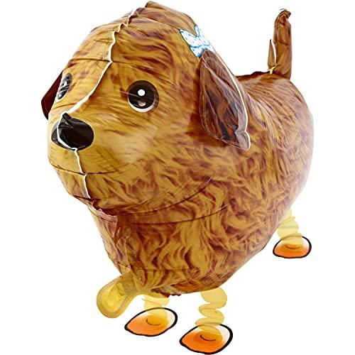 DekoRex® Airwalker Walking Pets Folienballon Foilballoon Tiere: Pudel