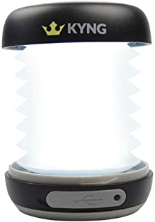 KYNG Solar Rechargeable LED Lantern Collapsible for...