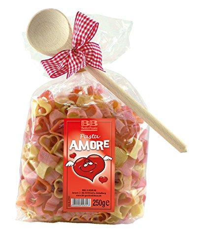 Pasta Präsent Amore mit Herznudeln handgefertigt in deutscher Manufaktur