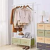 Garderobe und Hutablage Eisen Kunstständer Haushalt Einfache Multifunktionsgarderobe Wandgarderobe (Farbe: A)