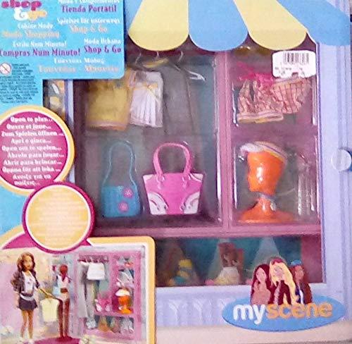 Barbie G6339 - My Scene Spielset für unterwegs Dress Go Room