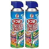 ヤブ蚊がいなくなるスプレー 蚊よけ 8時間効果持続 無香料 450mL × 2個